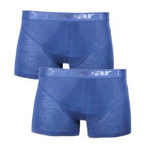 Σετ 2 τεμ. Mengear Basic Regular Boxer Minerva 90-20511 Μπλε Raf