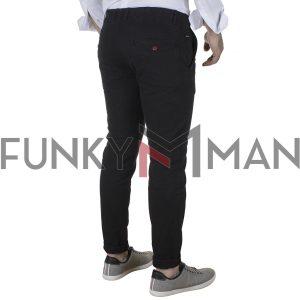 Βαμβακερό Παντελόνι Chinos SCINN COBAIN FW20 Μαύρο