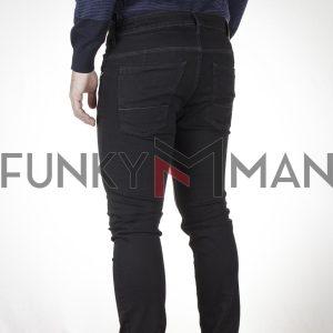 Τζιν Παντελόνι Slim SCINN Jeans FERREZ B FW20 Μαύρο
