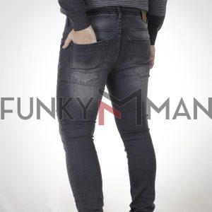 Τζιν Παντελόνι Slim SCINN Jeans FERREZ G FW20 Μαύρο
