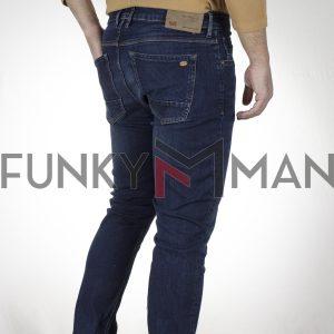 Τζιν Παντελόνι Slim Fit SCINN Jeans ZACK D FW20 Μπλε