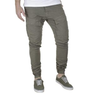 Cargo Παντελόνι με Λάστιχα Back2jeans W54 SS21 ARMY Χακί