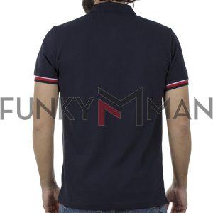 Κοντομάνικο Polo Shirt BigMan BM-519 SS20 Navy