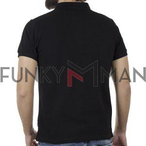 Κοντομάνικο Polo Shirt Bigman BM-520 Μαύρο