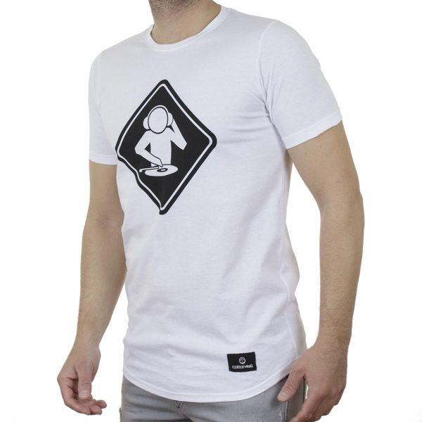 Κοντομάνικη Μπλούζα T-Shirt Cotton4all 21-214 SS21 Λευκό