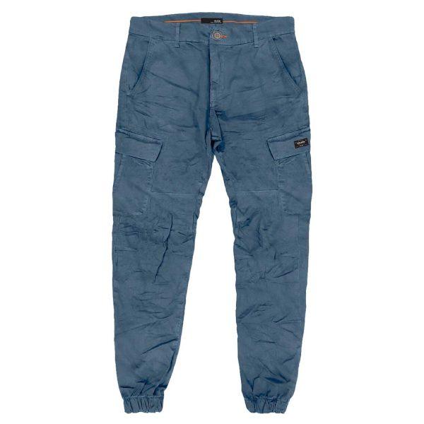 Cargo Παντελόνι με Λάστιχα DOUBLE CCP-21 Stone Blue