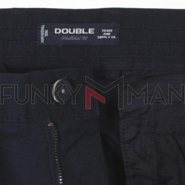 Παντελόνι Chinos με Λάστιχο Special Fabric DOUBLE CP-235 SS21 Navy