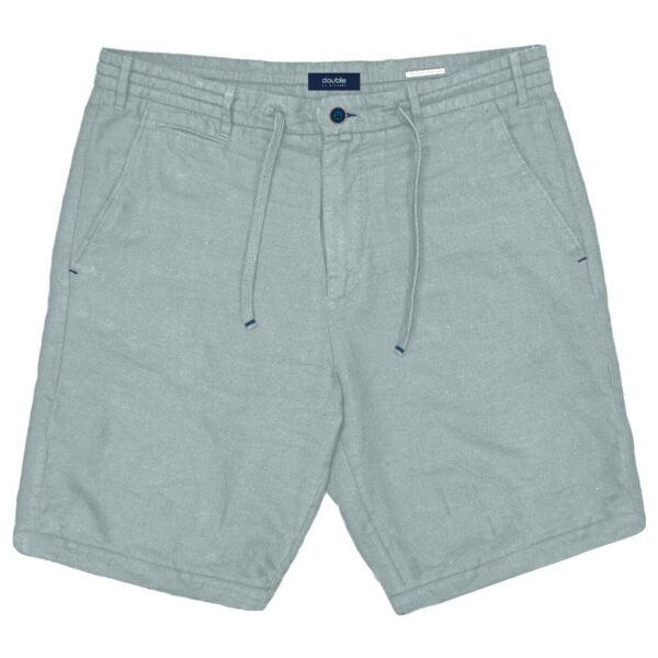 Chinos Shorts Special Fabric με Λάστιχο DOUBLE MSHO-128 Γκρι