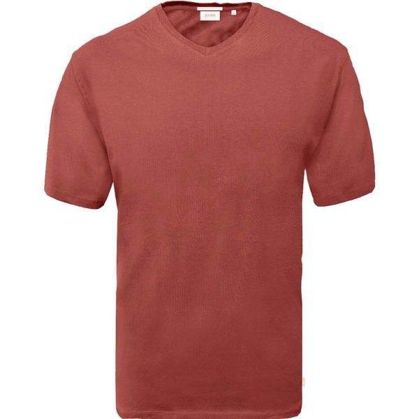 T-Shirt V-Neck DOUBLE TS-151 Copper