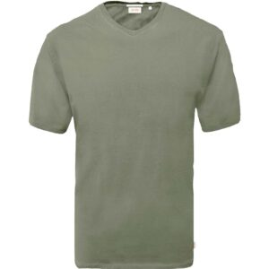 T-Shirt V-Neck DOUBLE TS-151 Χακί