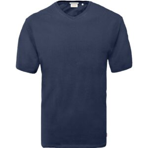 T-Shirt V-Neck DOUBLE TS-151 Μπλε