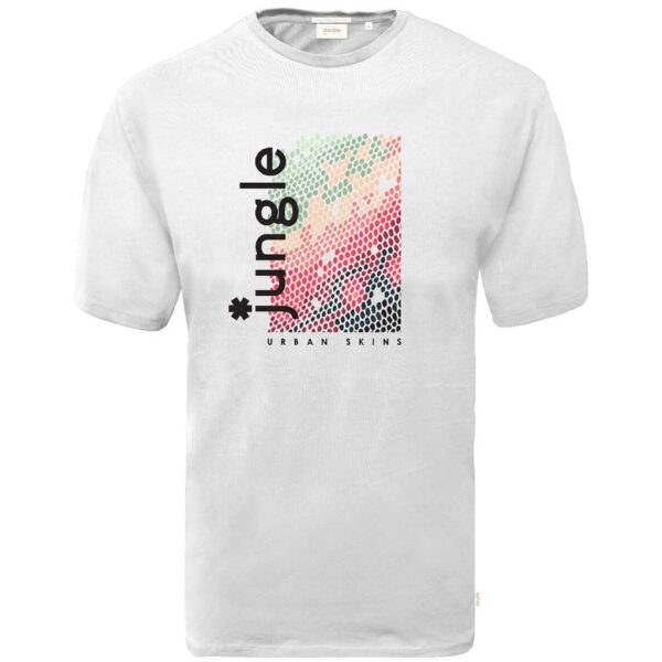 Graphic Print T-Shirt DOUBLE TS-166 Off White