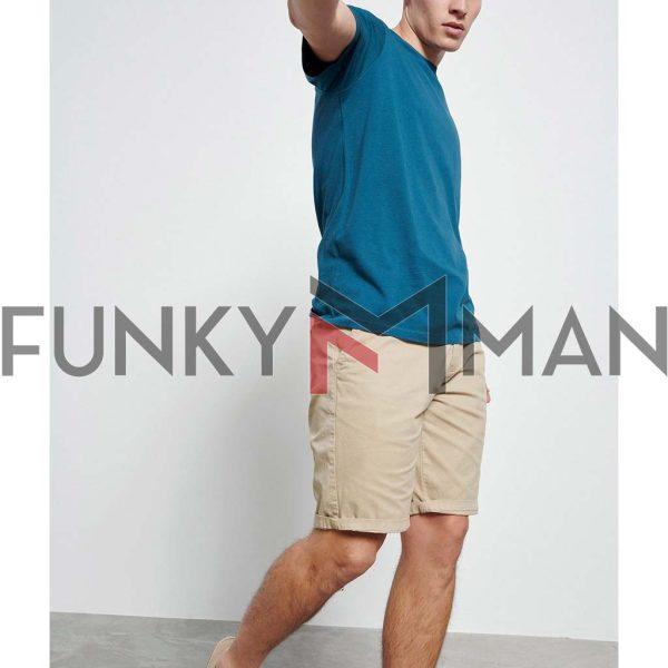 Essential T-Shirt FUNKY BUDDHA FBM003-001-04 Petrol