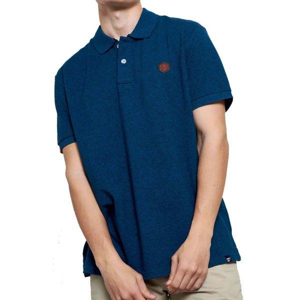 Polo Shirt FUNKY BUDDHA FBM003-012-11 Pesto