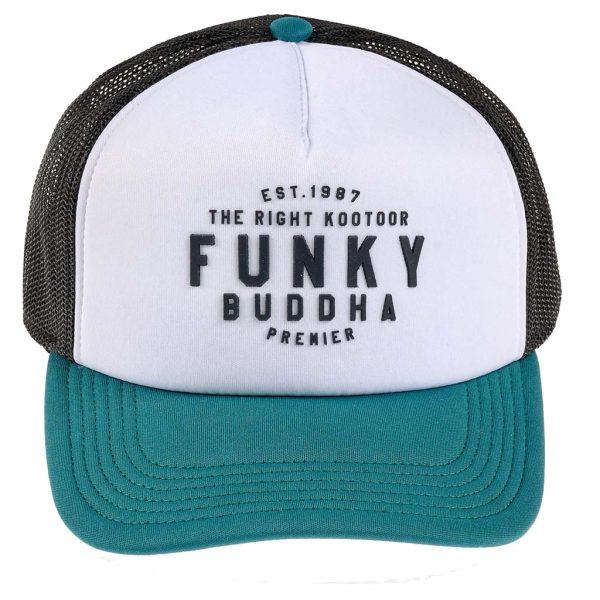 Καπέλο με Δίχτυ FUNKY BUDDHA FBM003-015-10 Πράσινο