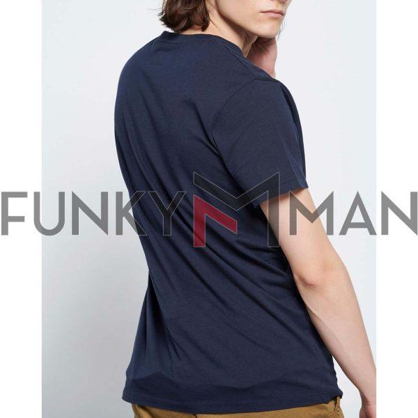 T-Shirt FUNKY BUDDHA FBM003-055-04 Navy