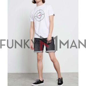 T-Shirt FUNKY BUDDHA FBM003-055-04 Off White