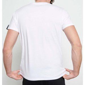 Printed T-Shirt FUNKY BUDDHA FBM003-082-04 Λευκό
