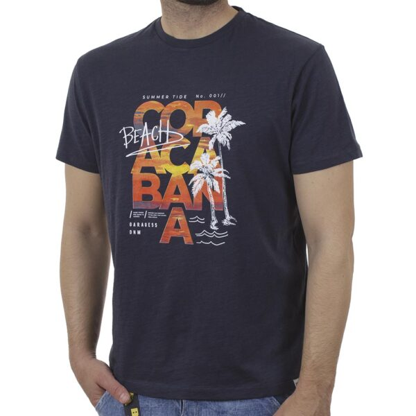 Κοντομάνικη Μπλούζα Garage55 GAM003-220-04 Ink