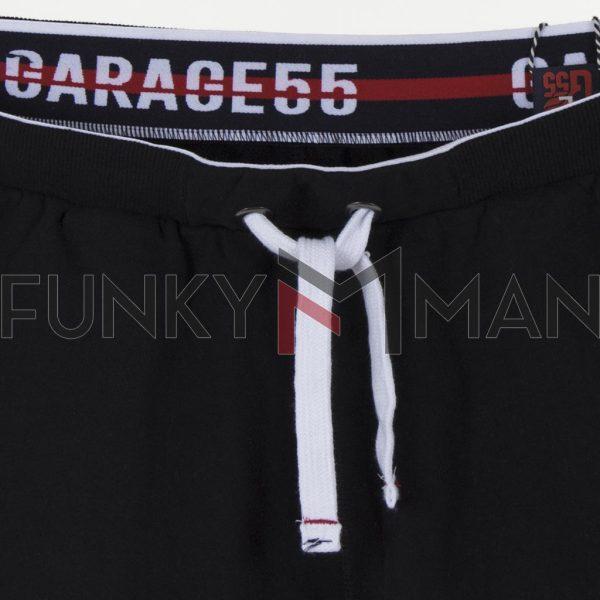 Μακό Βερμούδα Garage55 GAM003-221-03 Μαύρο