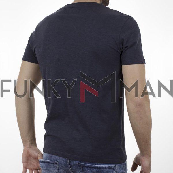 Κοντομάνικη Μπλούζα Garage55 GAM003-231-04 Ink