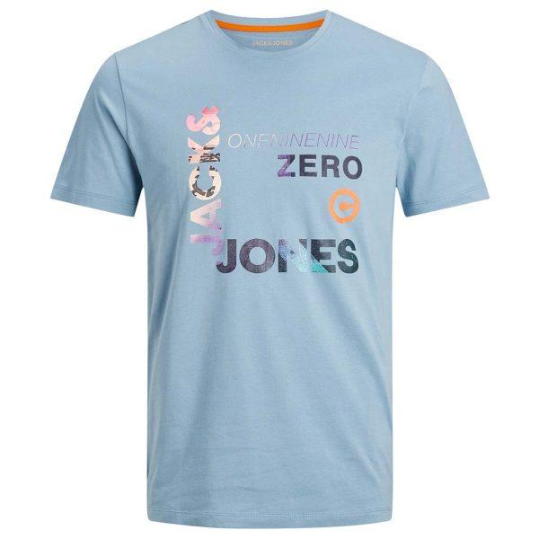 T-Shirt JACK & JONES 12182616 ανοιχτό Μπλε