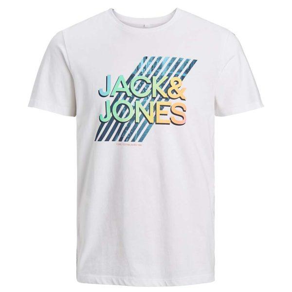 T-Shirt JACK & JONES 12182616 Λευκό