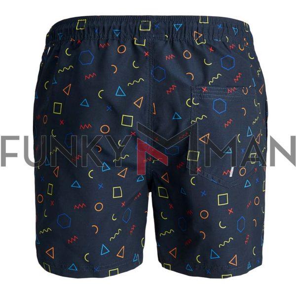 Μαγιό 80´S Swim Shorts JACK & JONES 12184771 Navy