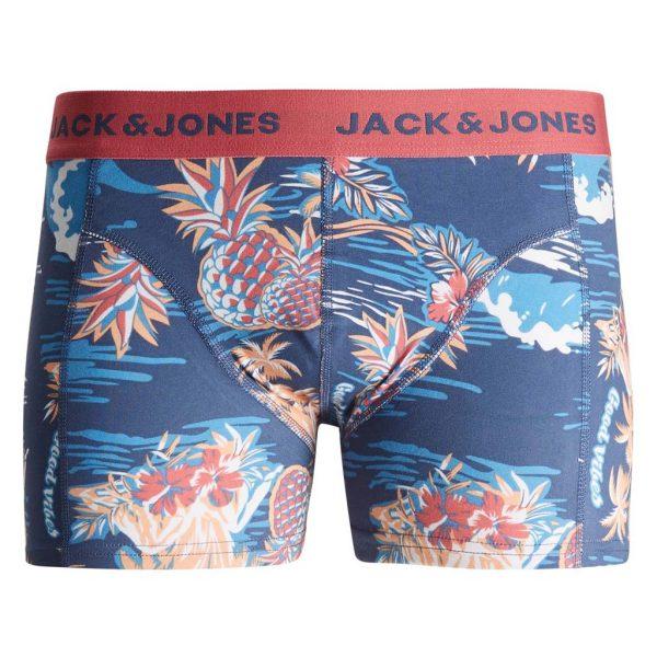 All Over Print Boxer JACK & JONES 12189253 Μπλε
