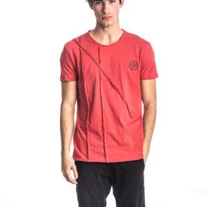 Κοντομάνικη Μπλούζα T-Shirt Paco & CO 213556 Κοραλλί