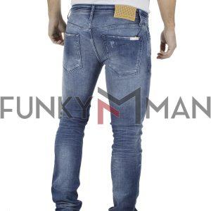 Τζιν Παντελόνι Slim Fit ANTONY MORATO 1-W00880 Μπλε
