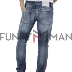 Τζιν Παντελόνι Slim Fit ANTONY MORATO 1-W00887 Μπλε