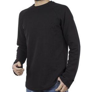 Μακρυμάνικη Μπλούζα EMANUEL NAVARO 015 Μαύρο