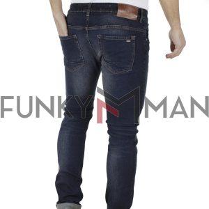 Τζιν Παντελόνι Redspot Denim BONO DP Slim σκούρο Μπλε