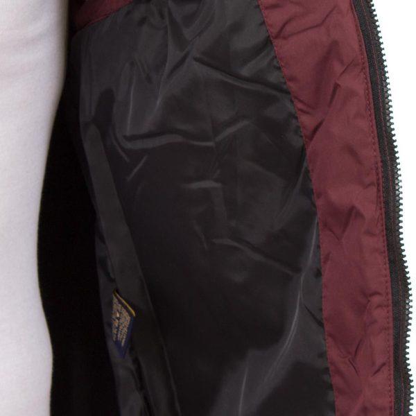 Αμάνικο Μπουφάν Γιλέκο Puffer Jacket SPLENDID 36-202-003 Κόκκινο Wine Red
