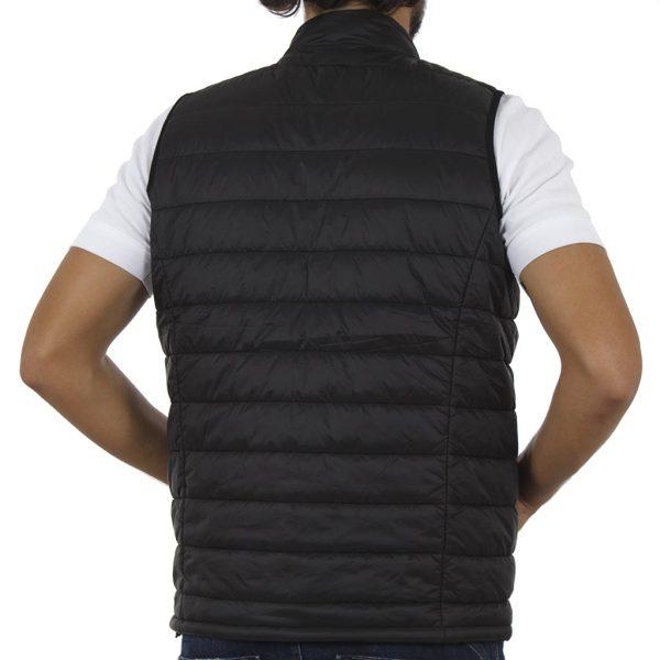 Αμάνικο Μπουφάν Puffer Vest Jacket DOUBLE SMJK-6 Μαύρο