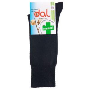 Κάλτσες MEDICAL dal socks 1012 Μαύρο