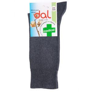Κάλτσες MEDICAL dal socks 1012 σκούρο Γκρι