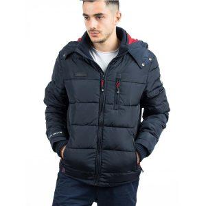 Μπουφάν Puffer Jacket ICE TECH A537 σκούρο Μπλε