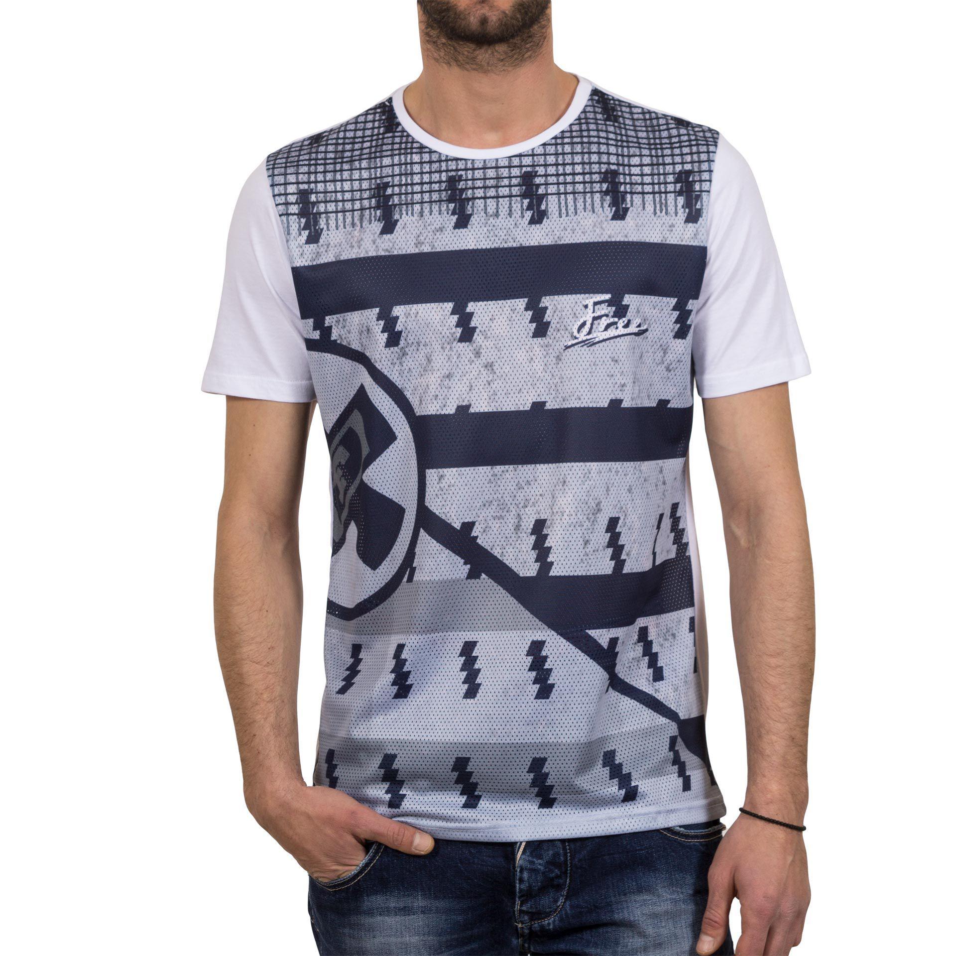 7ae3c9601d8f Ανδρική μπλούζα T-Shirt FreeWave Άσπρο Free