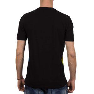 Ανδρική μπλούζα T-Shirt FreeWave Face Μαύρο