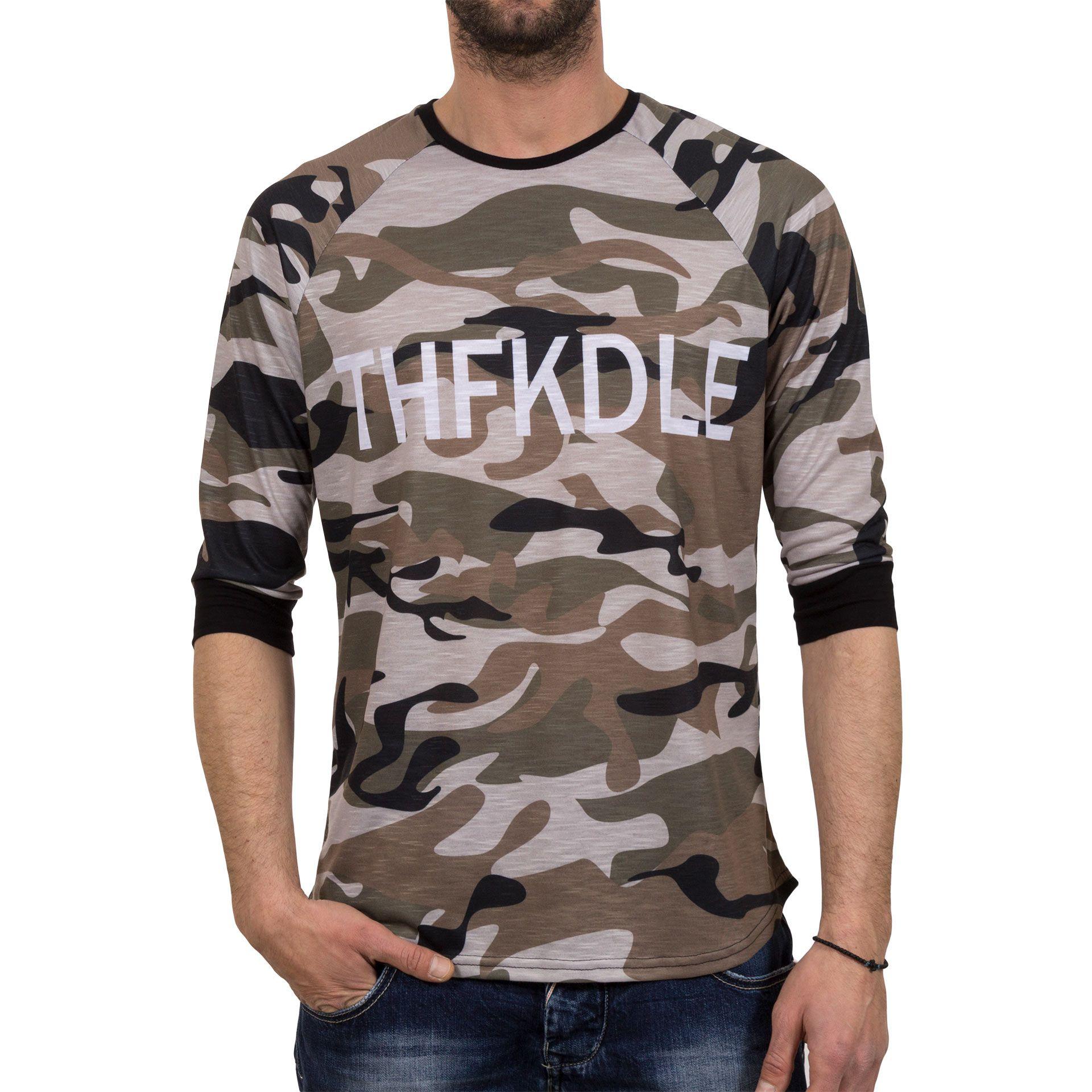 Ανδρική μπλούζα T-Shirt FreeWave Army