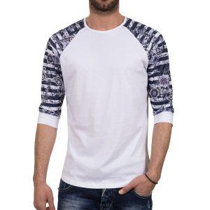 Ανδρική μπλούζα T-Shirt FreeWave 71109 Άσπρο