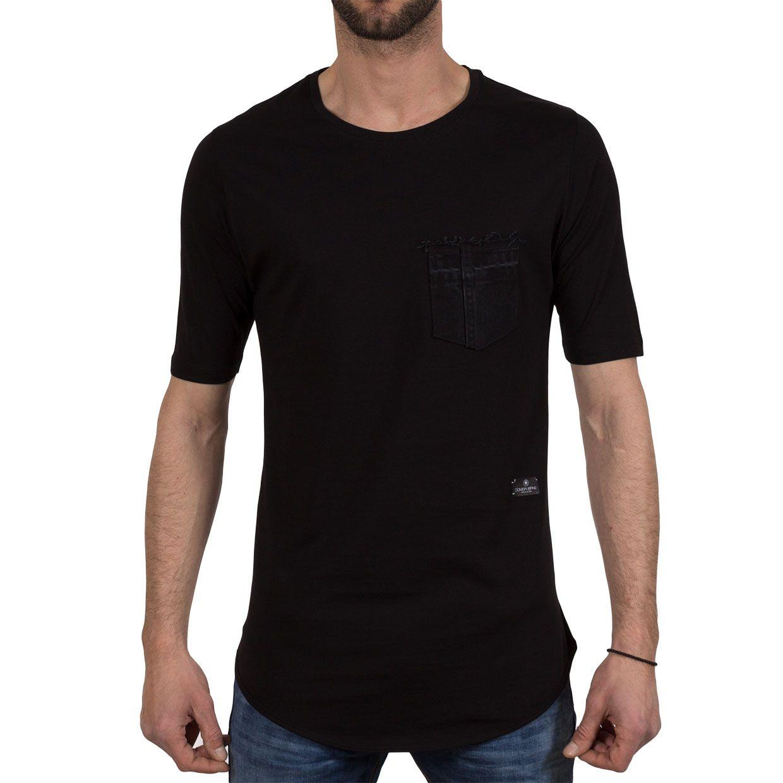 Ανδρική μπλούζα T-Shirt Cover Indian 0101 Μαύρο