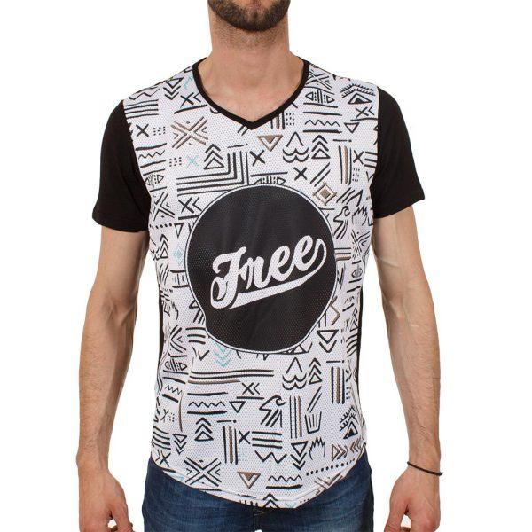 Ανδρική μπλούζα T-Shirt Free Wave 71102