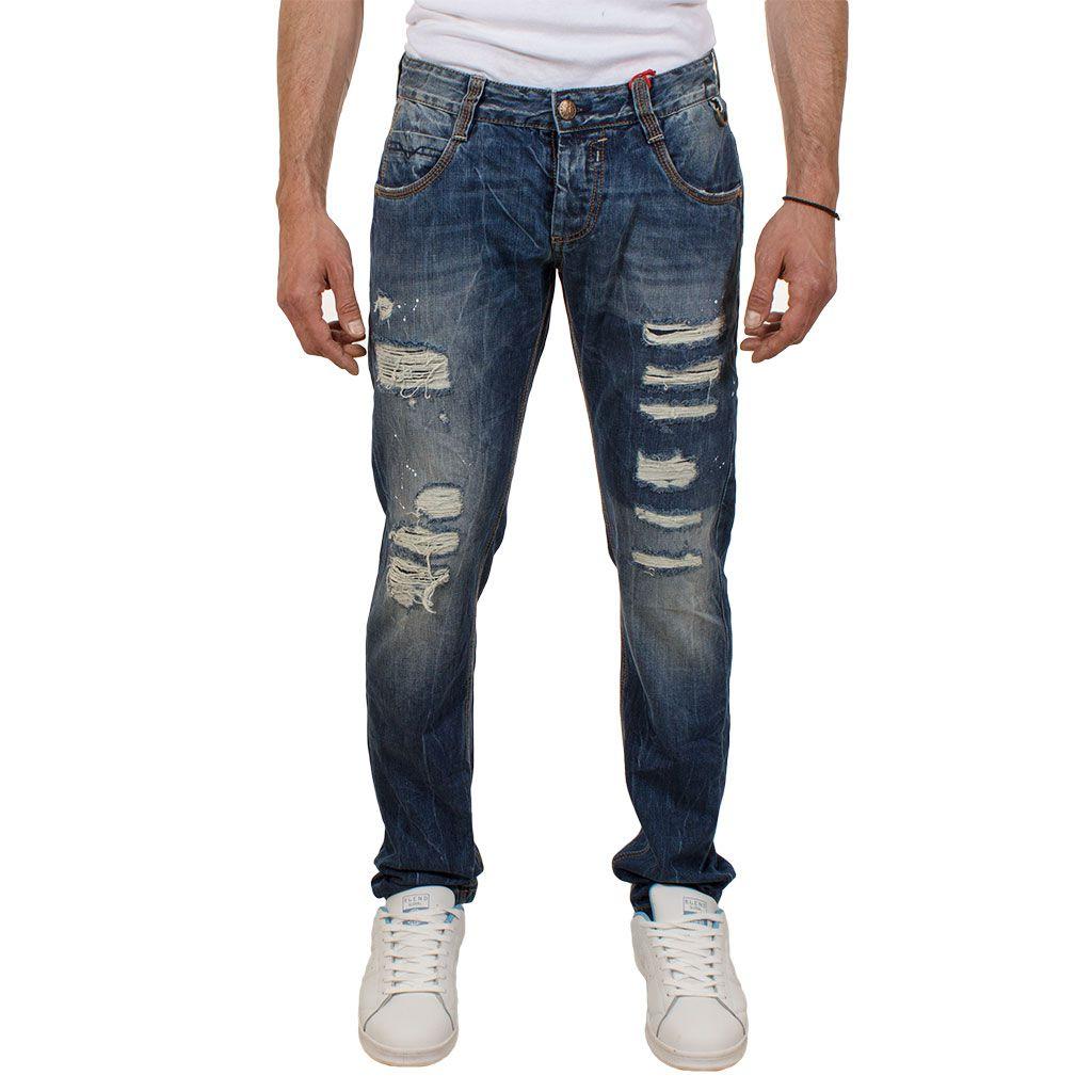 Ανδρικό Τζιν Παντελόνι Shaft Jeans 5674