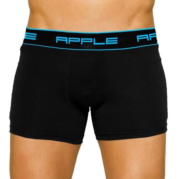 Εσώρουχο Boxer Apple 0110207 Τυρκουάζ Μαύρο