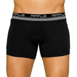 Εσώρουχο Boxer Apple 0110209 Ασημί Μαύρο