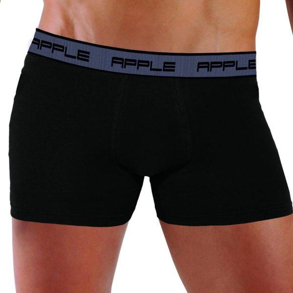Εσώρουχο Boxer Apple 0110306 Ασημί Μαύρο