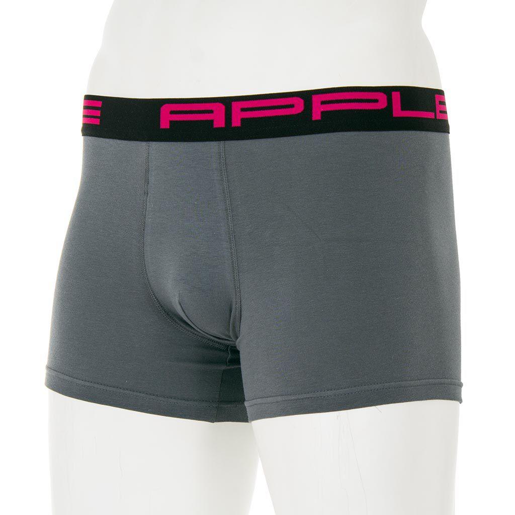Εσώρουχο Boxer Apple 0110208 Φούξια Ανθρακί